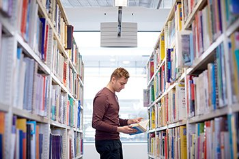 Students have access to the University Library