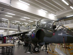 The Harrier Jump Jet simulator at Coventry University