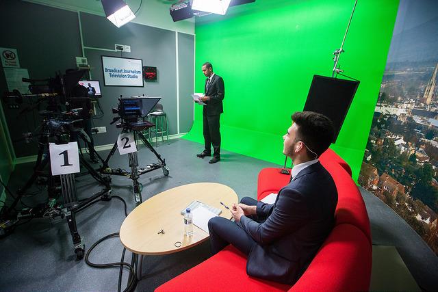University of Gloucestershire media studios