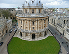 Oxford University aerial shot