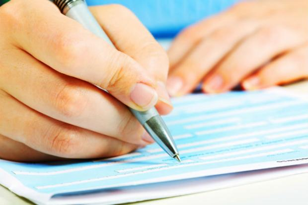 Completing personal statement