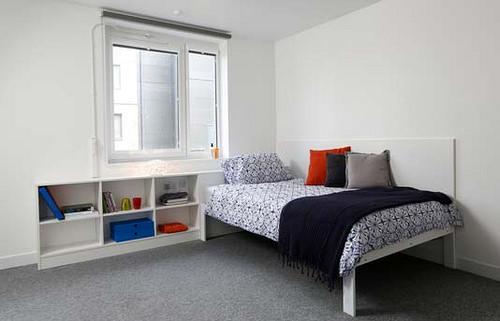 Hertfordshire university accommodation student room decor