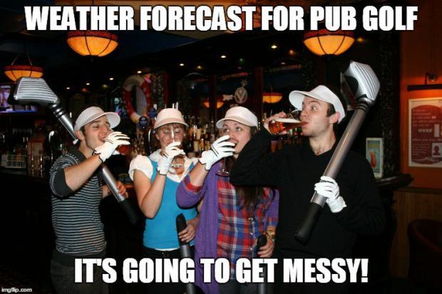 Pub golf