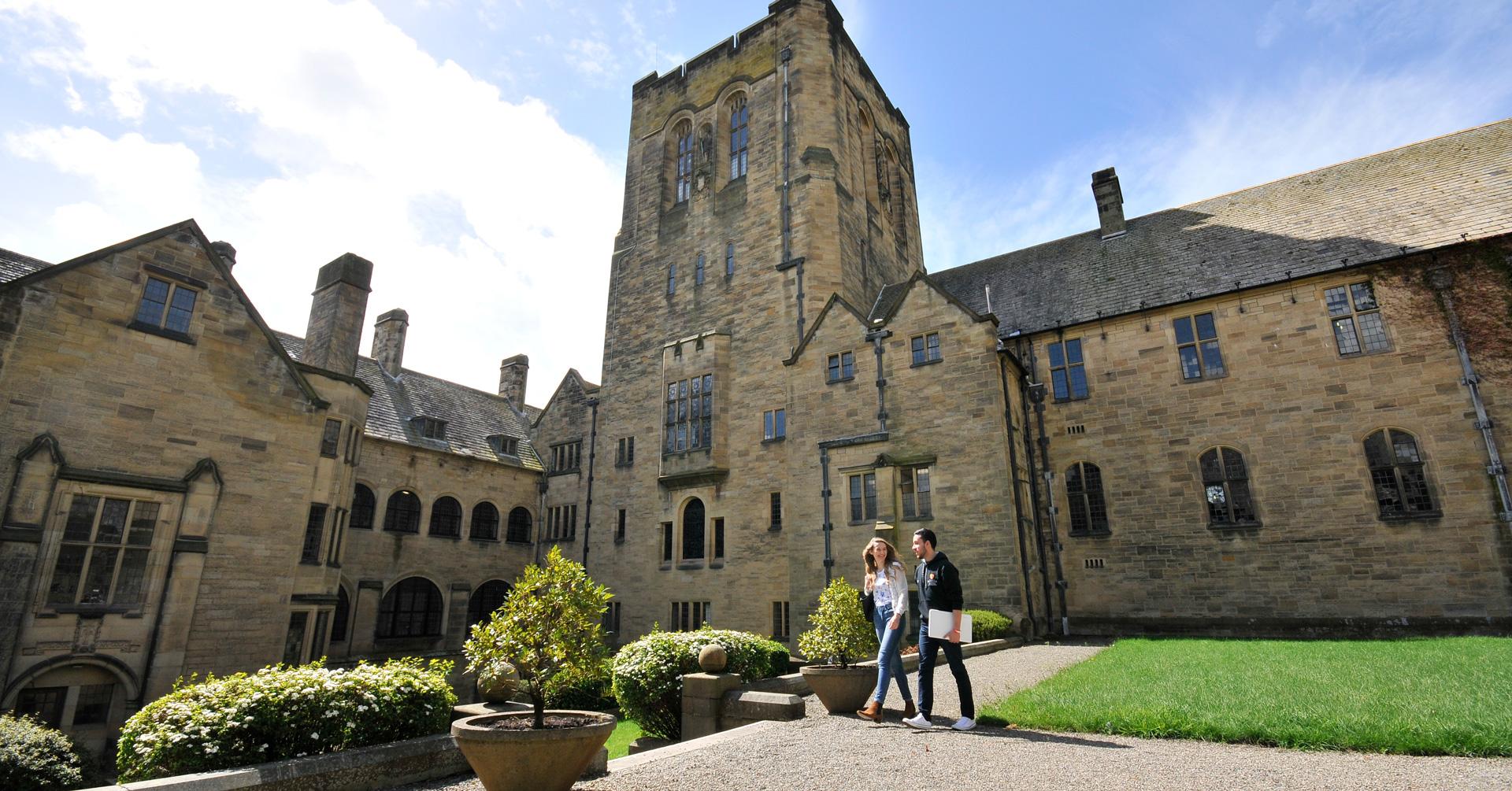Bangor University Quad