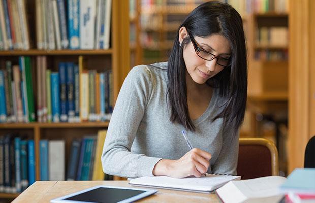 girl study