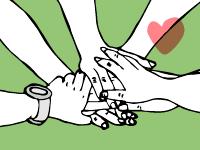 Hands in