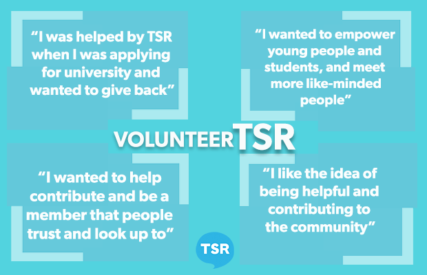 Why I volunteered with TSR