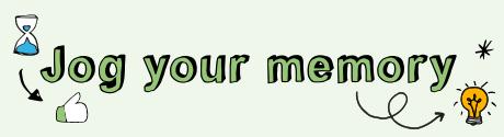 Jog your memory M