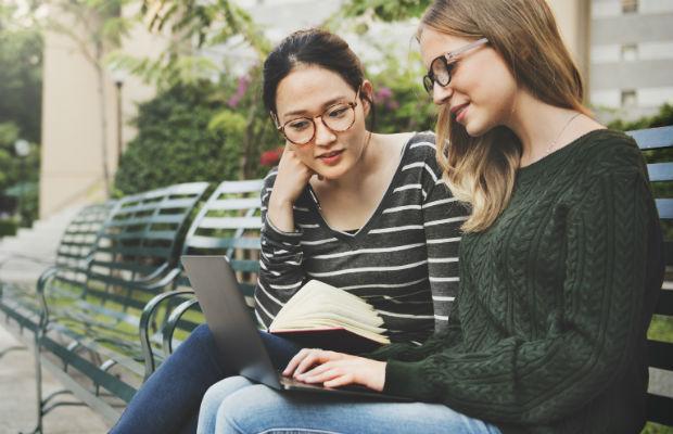 Students at uni