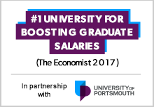 University of Portsmouth is ranked top for boosting graduate salaries