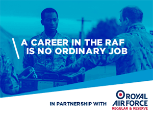 A career in the RAF is no ordinary job