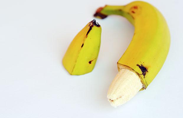 banana foreskin