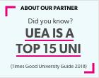 Students on UEA campus