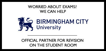 Worried about exams? We can help. Birmingham City University