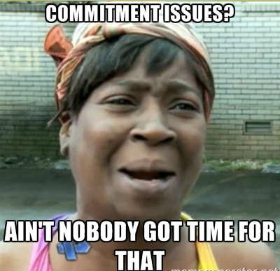 commitment issues