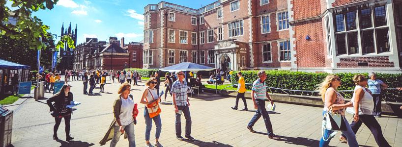 Newcastle University open days