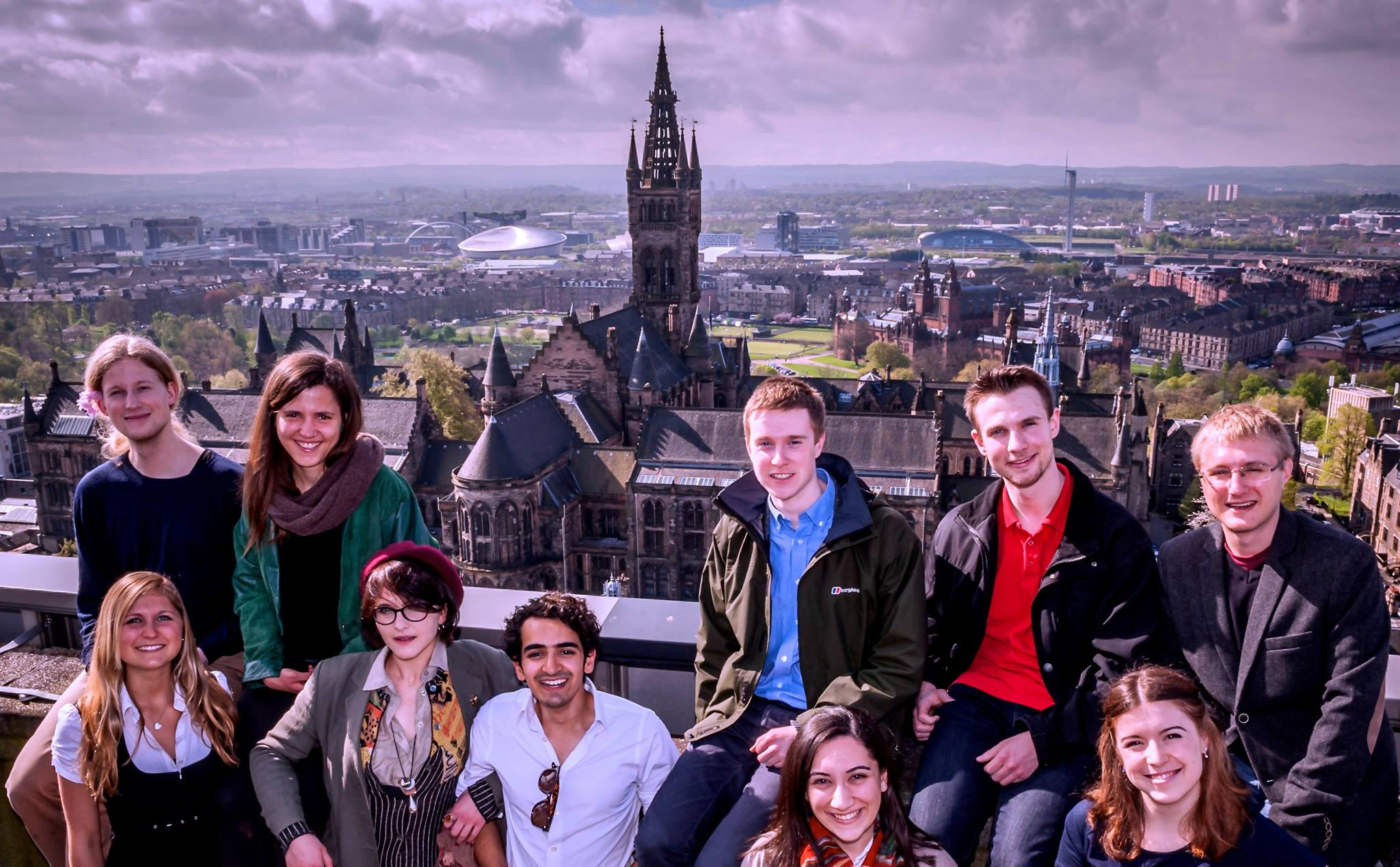 University of Glasgow official rep