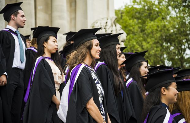 University students graduating in Portsmouth