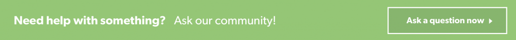 Need help with something? Ask our community