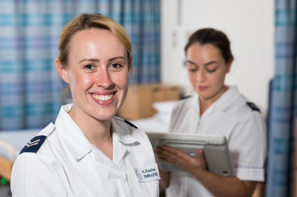 Corporal Hindley - RAF Nurse