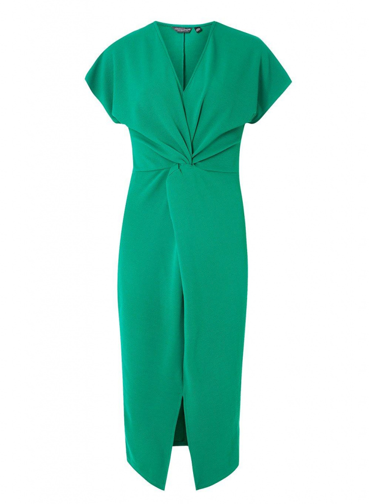Dorothy Perkins Emerald Knot Shift Dress