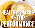 5 healthy high performance snacks