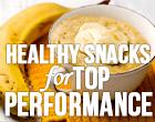 5 healthy high performance snacks