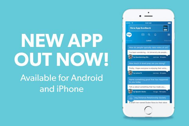 Download the new TSR mobile app | The Student Room