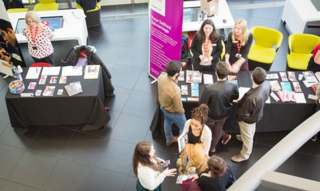 Check out the University of Salford's open days