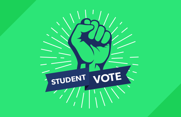 student vote banner