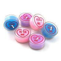 love heart tea lights