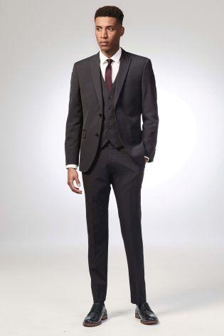 Next charcoal suit