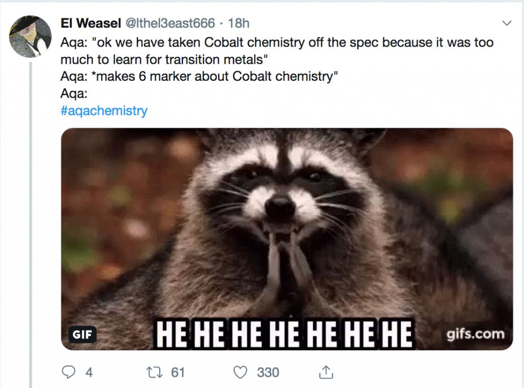 Cobalt tweet
