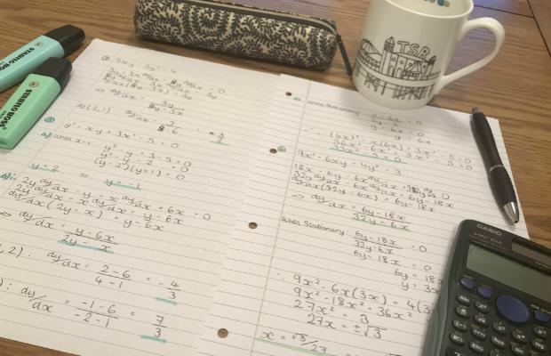 Revision desk