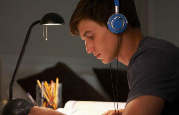 Student on study leave