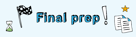 Final prep M