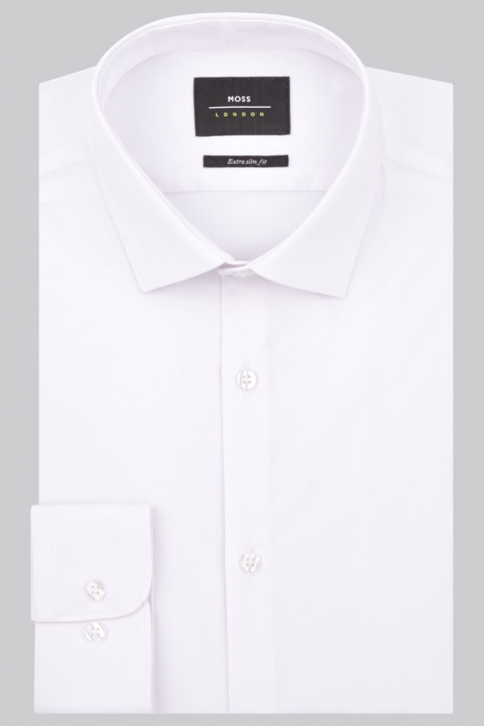 Moss Bros white shirt
