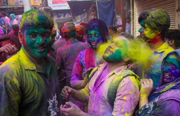 Holi colour festival