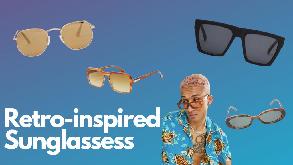 retro-inspired sunglasses