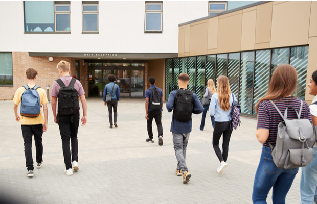pupils outside college