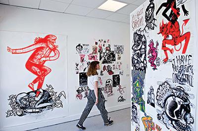 University of Brighotn art gallery