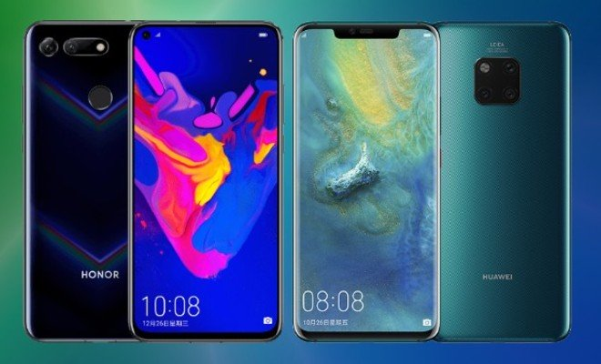 Honor View 20 vs Huawei Honor Mate 20 Pro