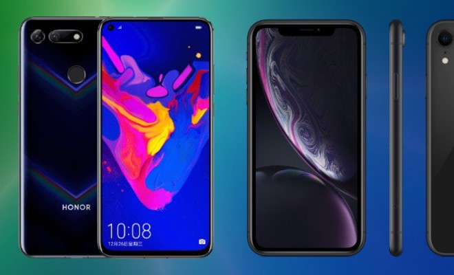 Honor View 20 vs iPhone XR