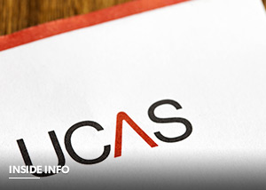 UCAS logo on top of letter