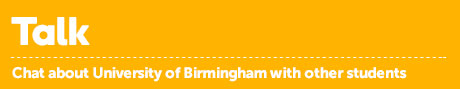 Talk about the University of Birmingham with other students