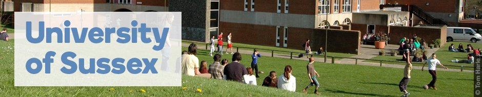 Find out more about the University of Sussex