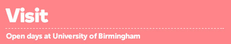 Find out more about open days at the University of Birmingham