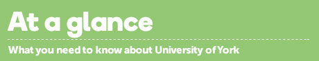 Find out more about the University of York