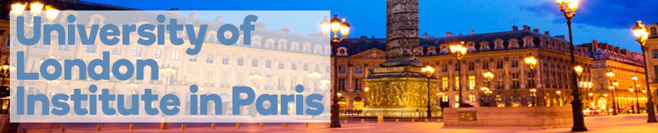 Find out more about the University of London Institute in Paris