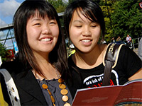 University open day at The University of Warwick (image © The University of Warwick)